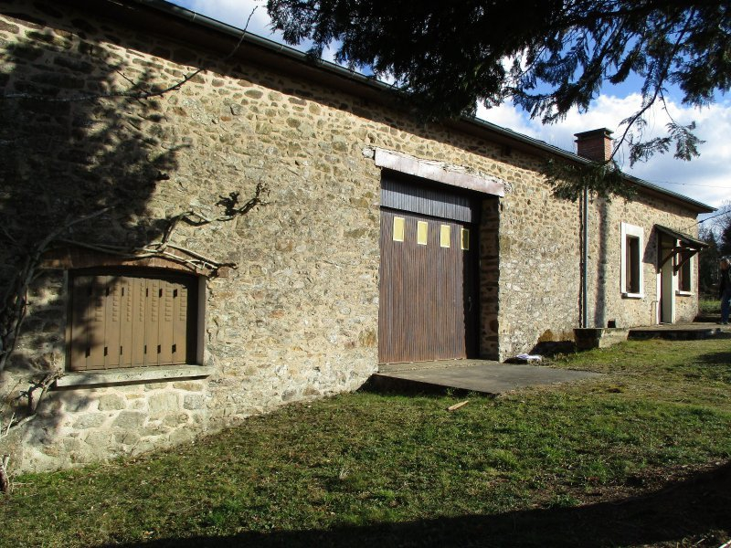Maison 3 pi ces chateauneuf la foret 87130 agence for Agence immobiliere 87