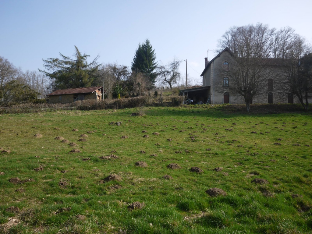 Magnifique corps de ferme isol sur 11 hectares agence for Agence immobiliere 87